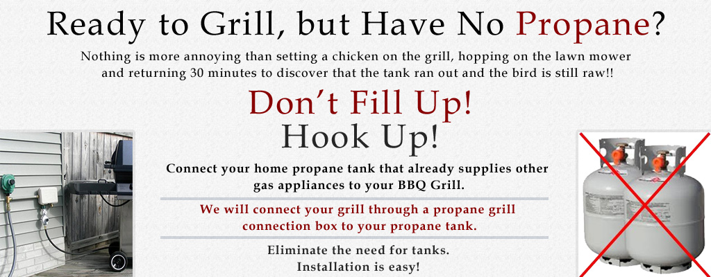 Hook Up Grill To Home Propane
